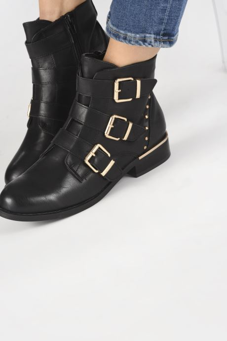 Bottines et boots I Love Shoes THAUDREY Noir vue bas / vue portée sac