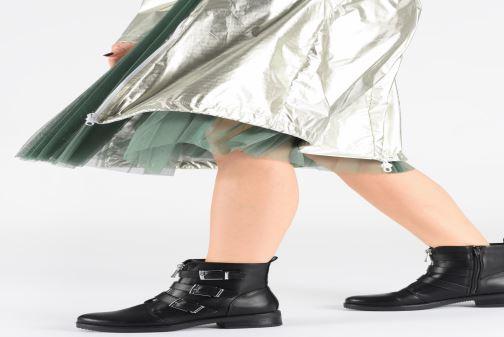 Stiefeletten & Boots I Love Shoes THAMY schwarz ansicht von unten / tasche getragen