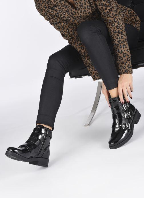 Stiefeletten & Boots I Love Shoes THALIVIA schwarz ansicht von unten / tasche getragen