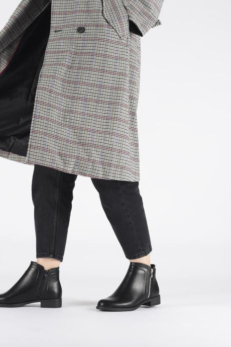 Bottines et boots I Love Shoes THALISON Noir vue bas / vue portée sac