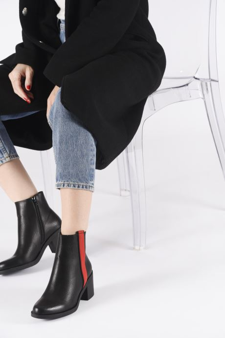 Ankle boots I Love Shoes THABBY Black view from underneath / model view