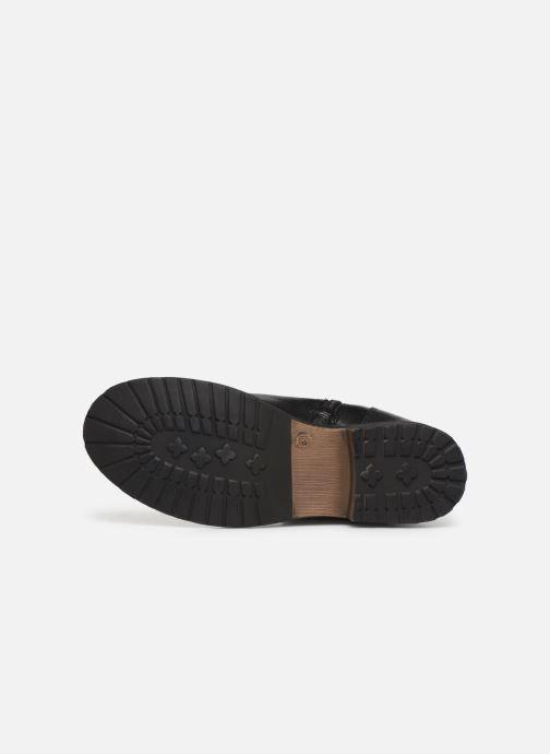 Bottines et boots I Love Shoes THEMPLE LEATHER Noir vue haut