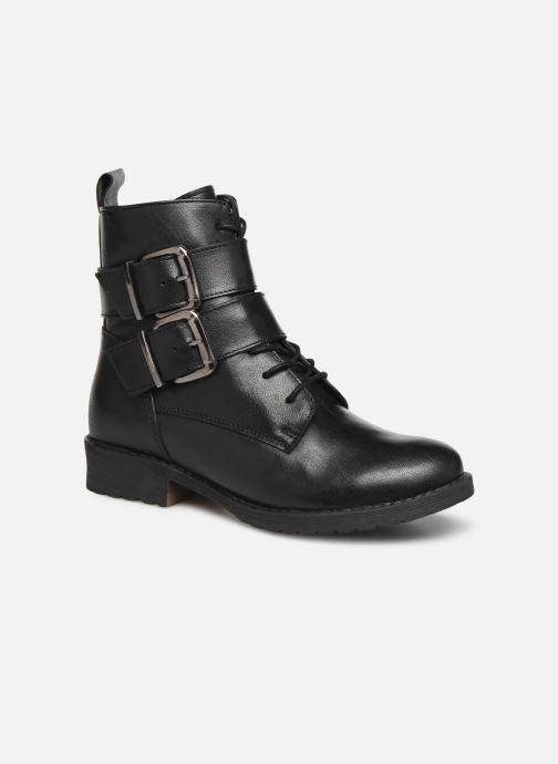 Bottines et boots I Love Shoes THEMPLE LEATHER Noir vue détail/paire