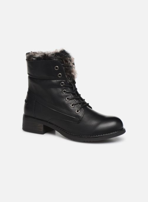 Bottines et boots I Love Shoes THRUDY FOURRE Noir vue 3/4