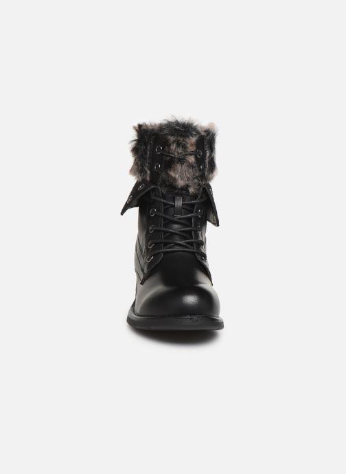Bottines et boots I Love Shoes THRUDY FOURRE Noir vue portées chaussures