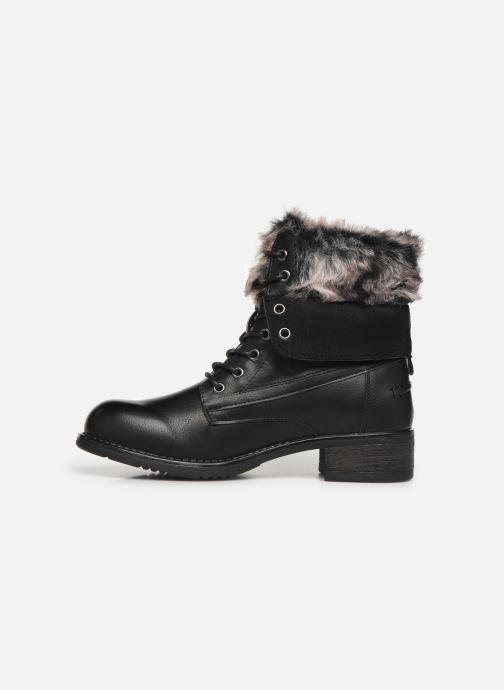 Boots en enkellaarsjes I Love Shoes THRUDY FOURRE Zwart voorkant