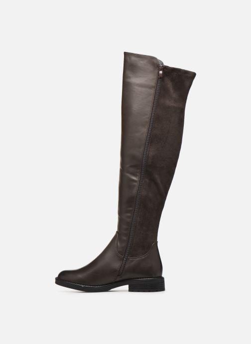 Laarzen I Love Shoes THARLEEN Bruin voorkant
