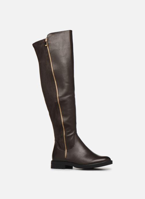 Bottes I Love Shoes THARLEEN Marron vue détail/paire