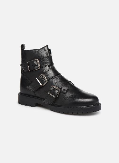 Bottines et boots I Love Shoes THYLER LEATHER Noir vue détail/paire