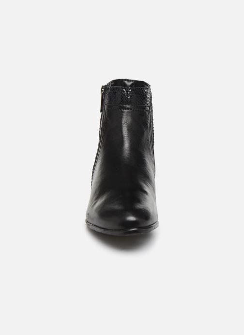 Boots en enkellaarsjes I Love Shoes THORI LEATHER Zwart model