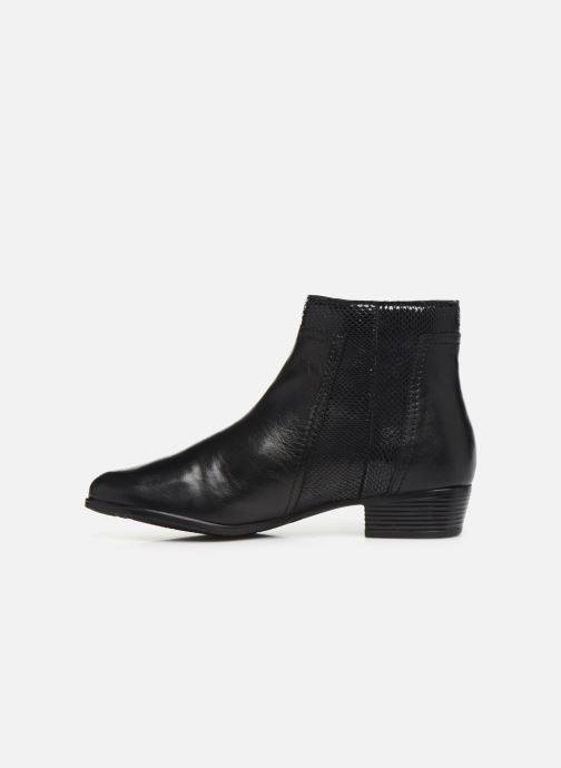 Ankle boots I Love Shoes THORI LEATHER Black front view