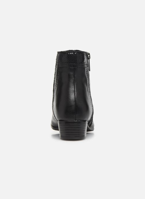 Ankle boots I Love Shoes THORI LEATHER Black view from the right