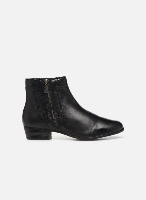 Boots en enkellaarsjes I Love Shoes THORI LEATHER Zwart achterkant