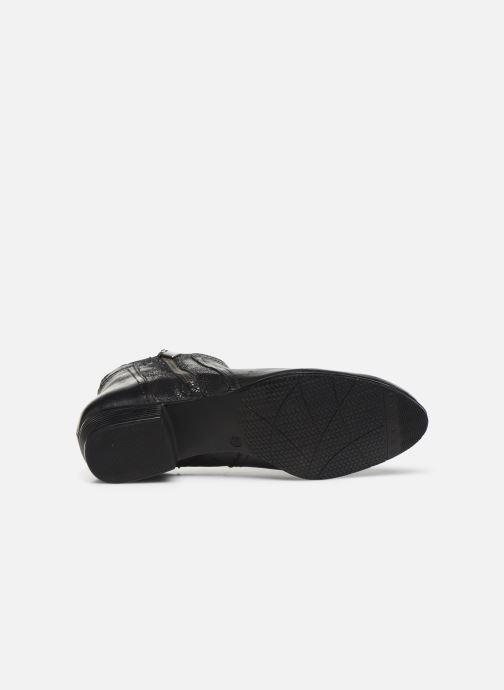 Boots en enkellaarsjes I Love Shoes THORI LEATHER Zwart boven
