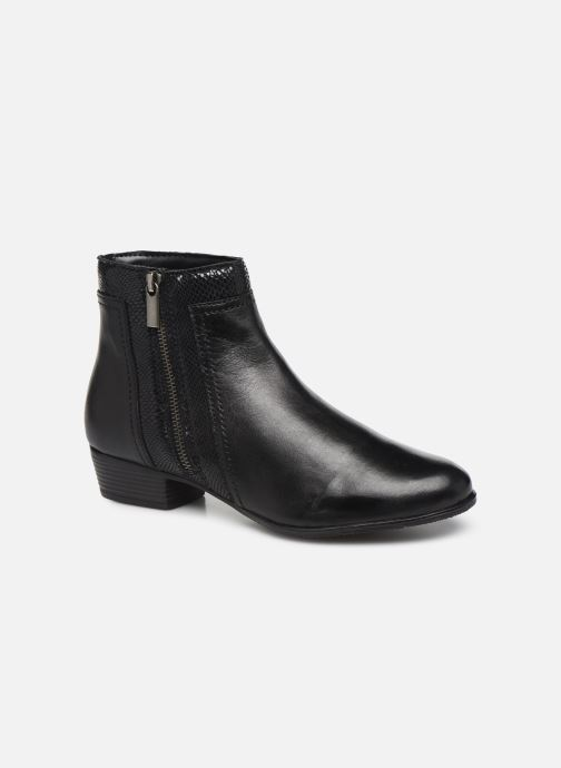 Boots en enkellaarsjes I Love Shoes THORI LEATHER Zwart detail