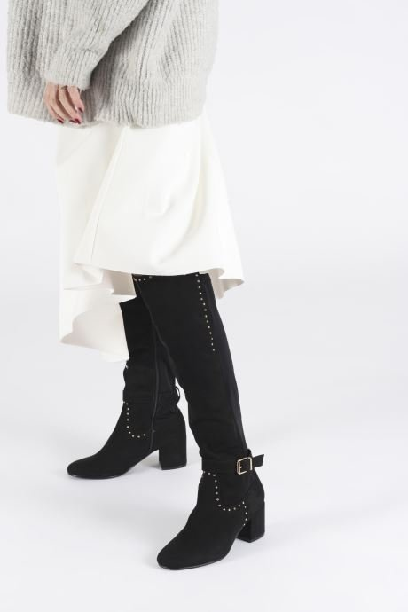 Boots & wellies I Love Shoes THADELYN Black view from underneath / model view