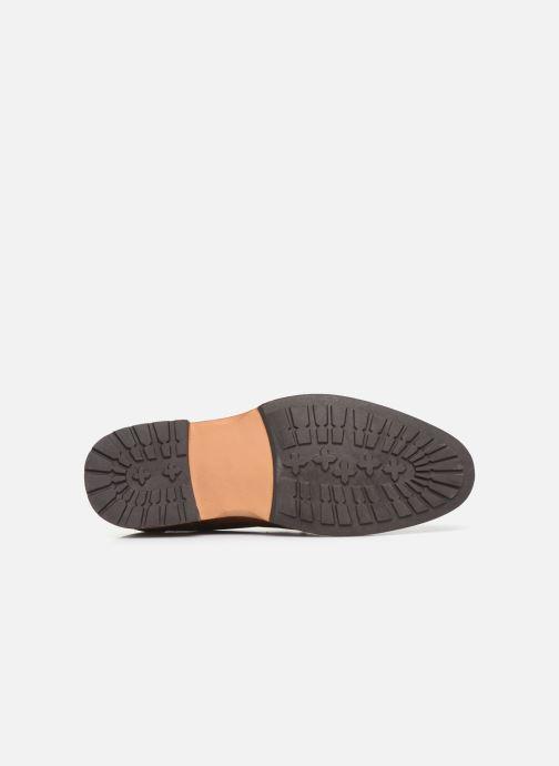 Scarpe con lacci I Love Shoes THAGON Marrone immagine dall'alto