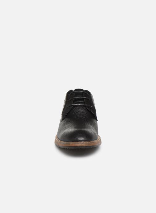 Zapatos con cordones I Love Shoes THAGON Negro vista del modelo