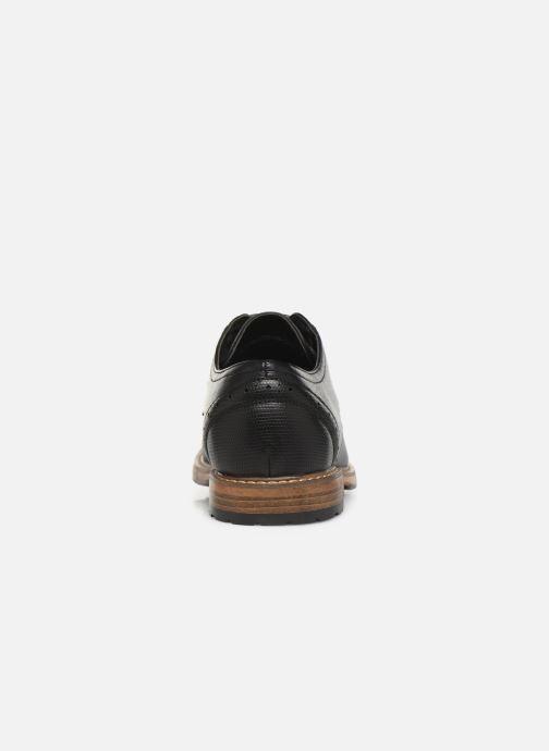 Zapatos con cordones I Love Shoes THAGON Negro vista lateral derecha