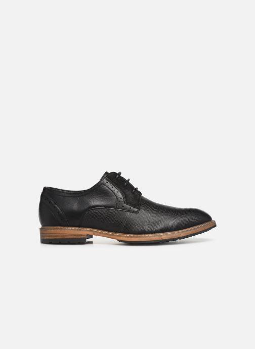 Zapatos con cordones I Love Shoes THAGON Negro vistra trasera