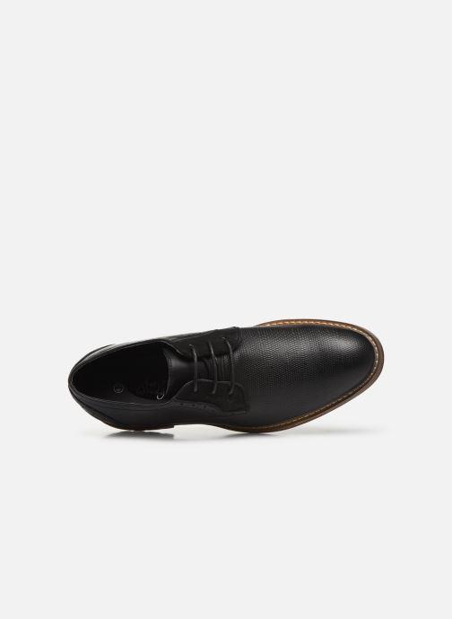 Zapatos con cordones I Love Shoes THAGON Negro vista lateral izquierda