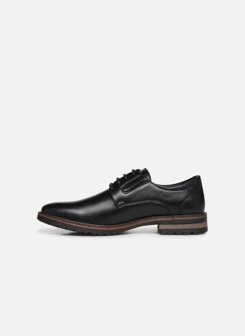 Chaussures à lacets I Love Shoes THRAFIC Noir vue face