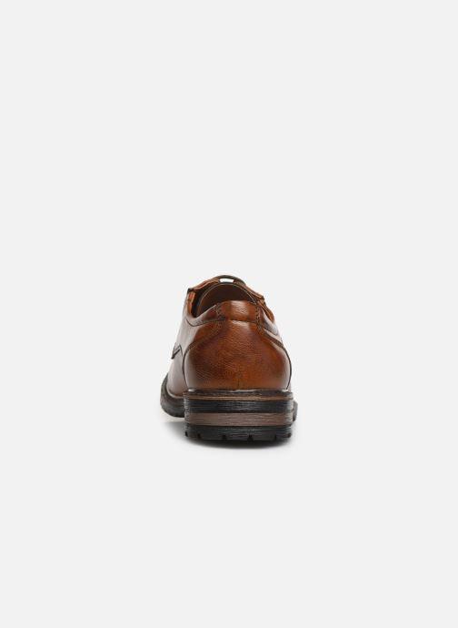 Chaussures à lacets I Love Shoes THRAFIC Marron vue droite