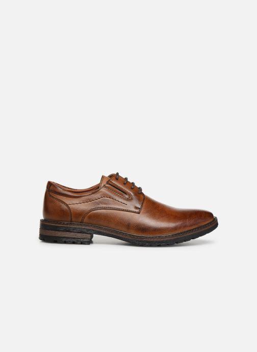 Chaussures à lacets I Love Shoes THRAFIC Marron vue derrière