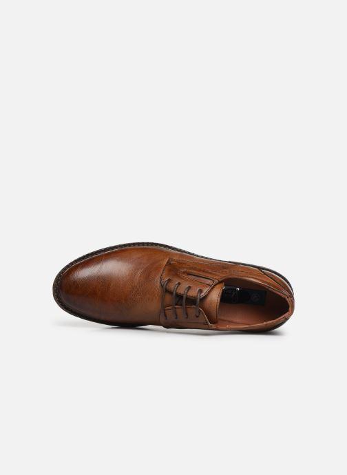 Snøresko I Love Shoes THRAFIC Brun se fra venstre