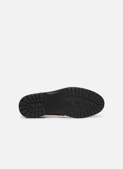 Chaussures à lacets I Love Shoes THRAFIC Marron vue haut