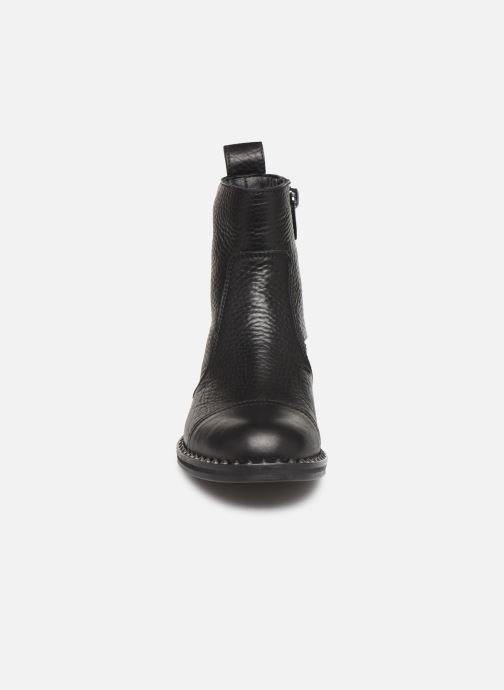 Bottines et boots Zadig & Voltaire Empress Clous Noir vue portées chaussures