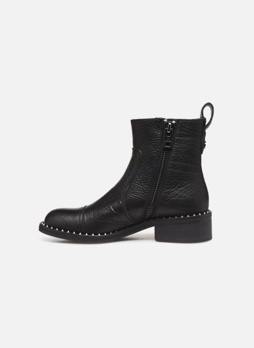 Boots en enkellaarsjes Zadig & Voltaire Empress Clous Zwart voorkant