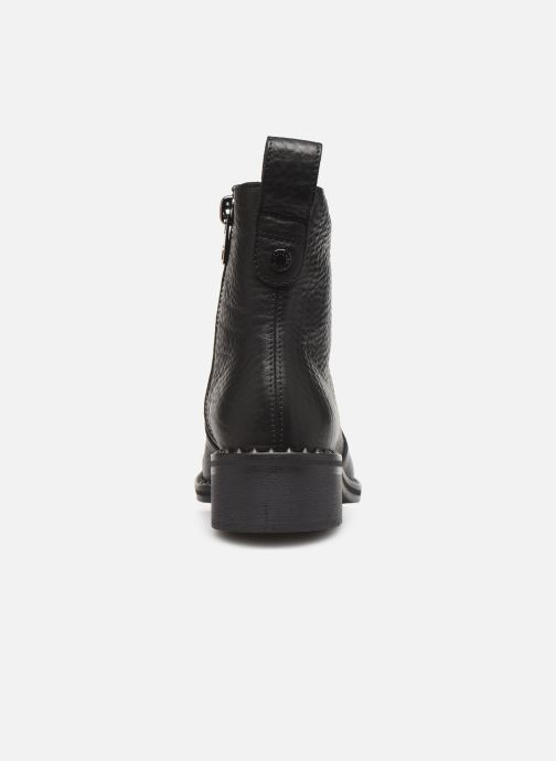 Ankle boots Zadig & Voltaire Empress Clous Black view from the right