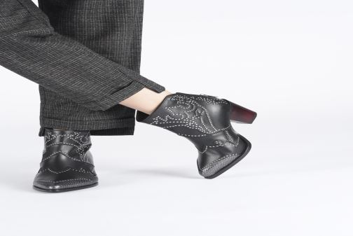 Boots en enkellaarsjes Zadig & Voltaire Cara Studs Zwart onder