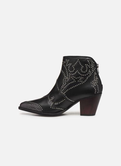 Boots en enkellaarsjes Zadig & Voltaire Cara Studs Zwart voorkant