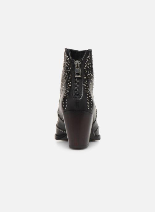 Bottines et boots Zadig & Voltaire Cara Studs Noir vue droite