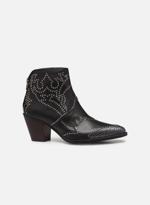Boots en enkellaarsjes Zadig & Voltaire Cara Studs Zwart achterkant