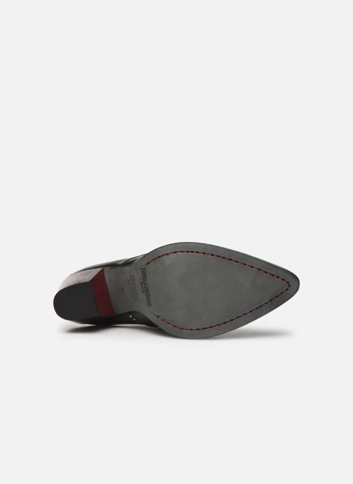 Boots en enkellaarsjes Zadig & Voltaire Cara Studs Zwart boven