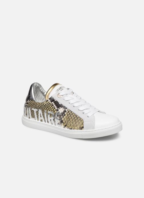 Trainers Zadig & Voltaire ZV1747 Wild Multicolor detailed view/ Pair view