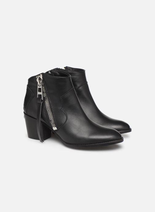 Boots en enkellaarsjes Zadig & Voltaire Molly Zip Zwart 3/4'