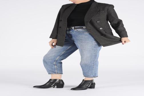 Bottines et boots Zadig & Voltaire Molly Zip Noir vue bas / vue portée sac