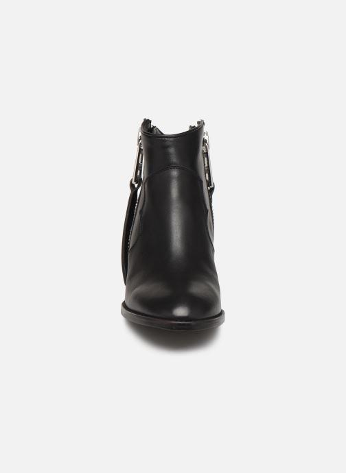 Bottines et boots Zadig & Voltaire Molly Zip Noir vue portées chaussures