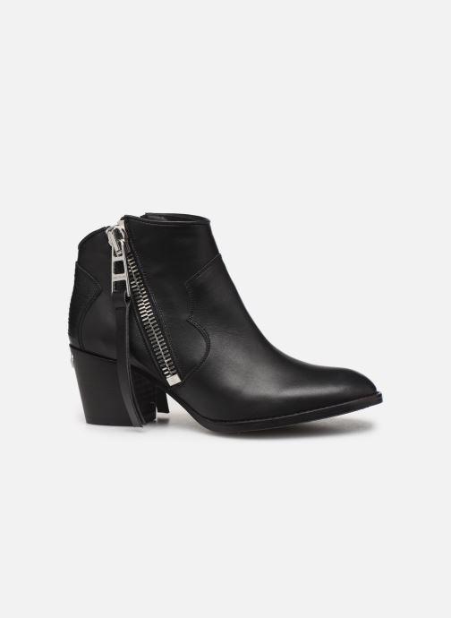 Bottines et boots Zadig & Voltaire Molly Zip Noir vue derrière