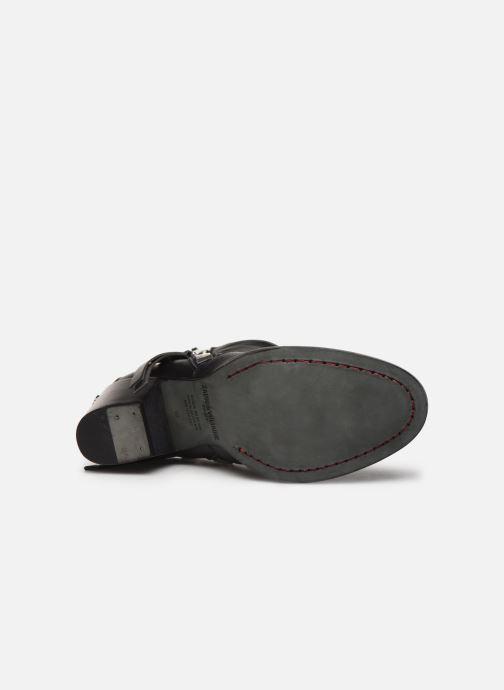 Stiefeletten & Boots Zadig & Voltaire Molly Zip schwarz ansicht von oben