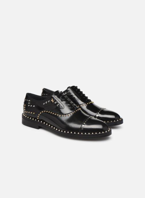 Chaussures à lacets Zadig & Voltaire Youth Studs Noir vue 3/4