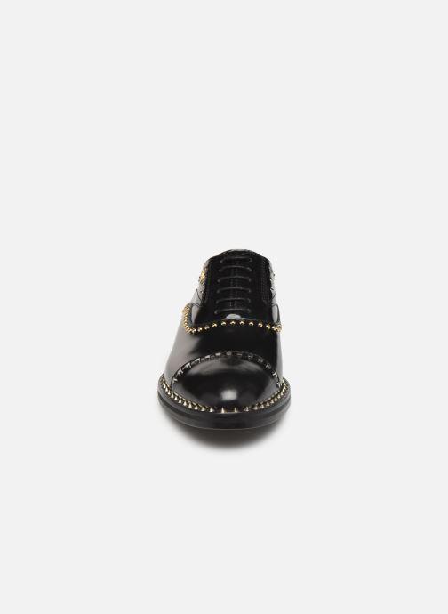 Scarpe con lacci Zadig & Voltaire Youth Studs Nero modello indossato