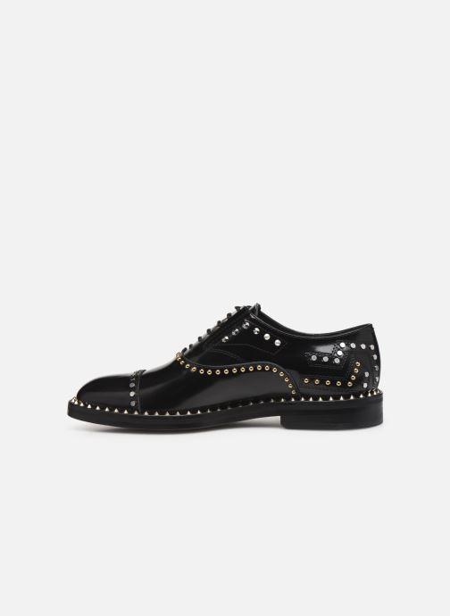 Chaussures à lacets Zadig & Voltaire Youth Studs Noir vue face