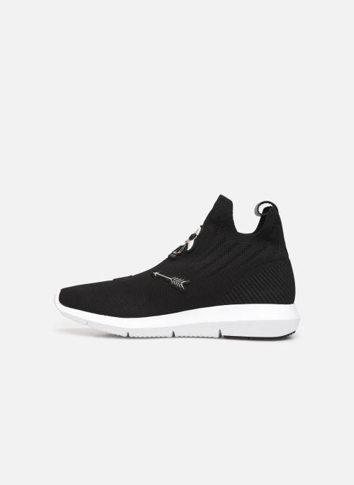 Sneakers Karl Lagerfeld Vitesse Jewel Badge Mid Zwart voorkant