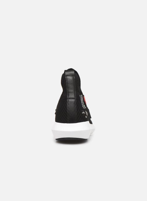Sneakers Karl Lagerfeld Vitesse Jewel Badge Mid Zwart rechts
