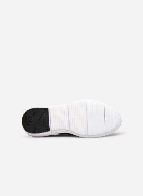 Sneakers Karl Lagerfeld Vitesse Jewel Badge Mid Zwart boven